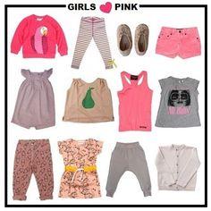 Girls Love Pink | #minirodini | #evaandoli | #fingerinthenose | #bobochoses | #americanoutfitters | #franka | #lespritdeluna