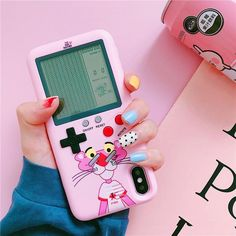 Pink Panther Gameconsole phone case for iPhone 6 / / / 7 / / 8 . - Pink Panther Gameconsole phone case for iPhone 6 / / / 7 / / 8 / / X / XS / XR / - Cute Phone Cases, Iphone Phone Cases, Kawaii Phone Case, Iphone Cases Disney, Cool Iphone Cases, Cell Phone Covers, Pink Iphone, Iphone 6 Plus Case, Rosa Panther