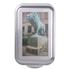 Lion in Chicago Cake Pan