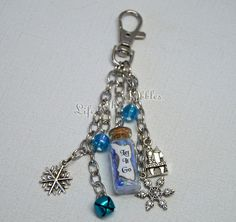 Let It Go, Frozen Purse Charms, Bag Accessory, Handbag Charm, Backpack Charm, Keychains, Lanyard Charms, Purse Jewelry by LifeistheBubbles on Etsy