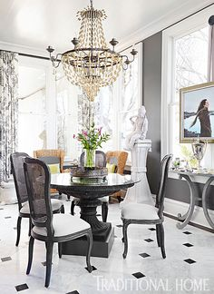 2017 O More College Of Design Showhouse Elegant Dining Roomdining