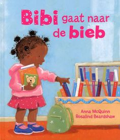 """digitaal prentenboek """"Bibi gaat naar de bieb"""" boeken"""