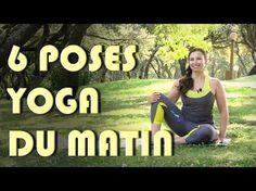Routine du matin - 6 poses Yoga dès le réveil -  Séverine Jacinto - YouTube