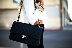 chanel. classic. black. dream purse.