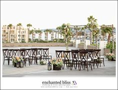 Wedding Ceremony- Harbor Terrace with Panoramic Views of the Pacific Ocean and Redondo Beach Marina