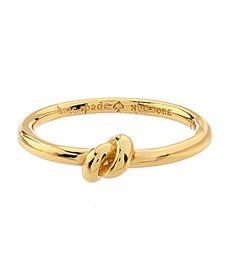 kate spade new york Sailors Knot Ring #Dillards