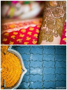 Contemporary wedding decor colour marigold candid photography indian real wedding | Stories by Joseph Radhik