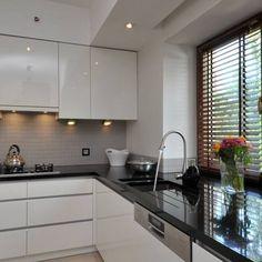 Kitchen Room Design, Best Kitchen Designs, Kitchen Cabinet Design, Modern Kitchen Design, Living Room Kitchen, Home Decor Kitchen, Interior Design Kitchen, Diy Kitchen, White Glossy Kitchen