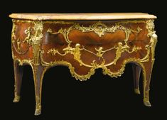 JOSEPH-ÉMMANUEL ZWIENER  FL. CIRCA 1875-1900  A FINE RÉGENCE STYLE GILT BRONZE MOUNTED KINGWOOD COMMODE ADAPTED FROM THE CELEBRATED MODEL BY CHARLES CRESSENT  PARIS, CIRCA 1880S
