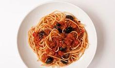 Nigel Slater's spaghetti alla puttanesca