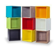 Clic Storage Cubes Shelving Unit Bookcase Display Unit No Tools Required