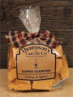 Citrus & Spice Bag of Crumbles - 6oz.