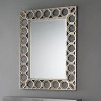 Shades of Light - Modern Eclectic 2016 - Honeycomb Lattice Framed Mirror