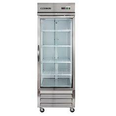 Frigidaire Commercial Grade Fridge with Glass Doors a