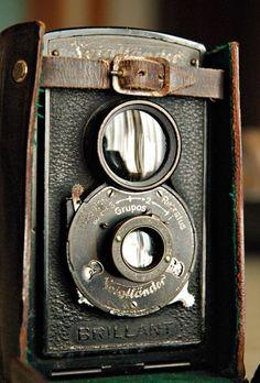 Beautiful antique camera