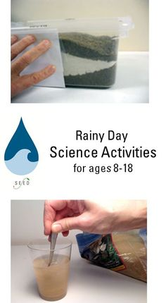 Rainy Day Activities, great ideas for ages 8-18 during the summer, whether it is too hot out or pouring! Keep their minds active!
