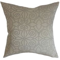 The Pillow Collection Arum Geometric Bedding Sham Size: