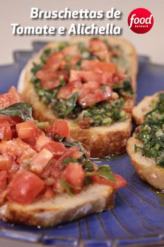 Gastronomy Food, Bebidas Detox, Cookery Books, Time To Eat, Bruschetta, Health And Nutrition, Food Network Recipes, Finger Foods, Pasta Recipes