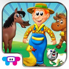 Download IPA / APK of Old Macdonald Had a Farm  All In One Activity Center and Full Interactive Sing Along Book for Children : HD ! for Free - http://ipapkfree.download/3328/