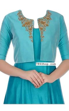 Online Indian and Pakistani dresses, Buy Pakistani shalwar kameez dresses and indian clothing. Party Wear Indian Dresses, Indian Gowns Dresses, Silk Kurti Designs, Salwar Designs, Pakistani Dresses Online Shopping, Online Dress Shopping, Indian Designer Outfits, Indian Outfits, Kurti With Jacket