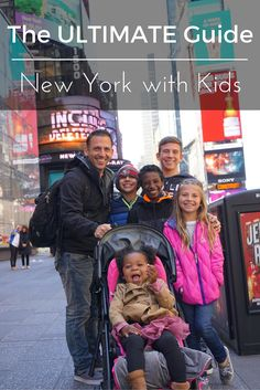 Everything you need to know about traveling with kids to NYC New York is a fascinating place for adults and kids alike. Check out our list of things to do with kids in New York. Take note all the amazing food we found too! Nyc With Kids, Travel With Kids, Family Travel, Family Vacations, Family Trips, Summer Travel, Dream Vacations, New York City Vacation, New York City Travel