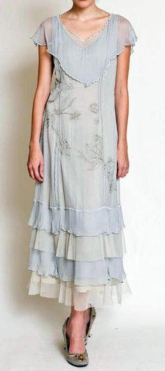 Nataya Vintage Wedding Dress 40001 Ivory
