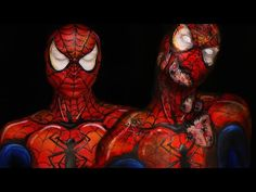 INFESTED Spiderman & Comic Spiderman Makeup Tutorial - YouTube