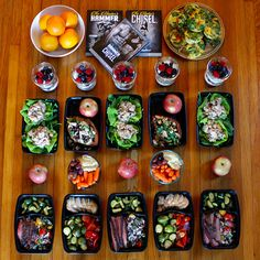 Meal Prep using the 21 Day Fix, Cize or Master's Hammer & Chisel portion control eating plan.