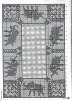 Cross Stitch monochrome