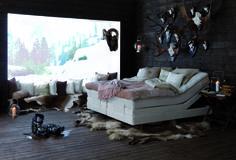 Carpe Diem Beds of Sweden   Model: Saltö verstellbar   #boxspring #bed #Bett #Taschenfederkern #pocketspring #adjustable
