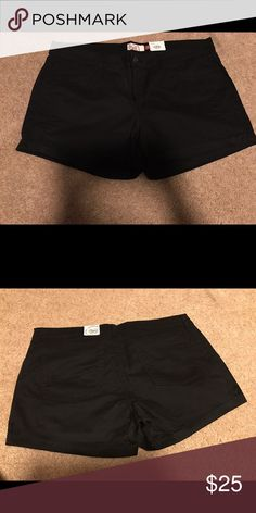Black shorts Brand new ( with tags)                                                       never used Mudd Shorts