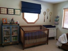Walter's Navy and Cream Nursery - Project Nursery
