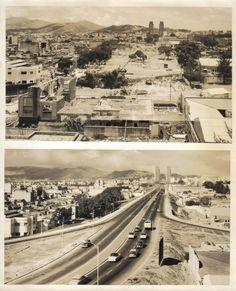Av. Bolívar, Caracas (antes y después)