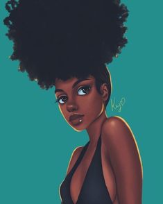 The Natural Hair Cheat Sheet Mind Blowing Ways To Grow - Creative Short Faux Locs That Will Protect Your Hair Gorgeous Natural Hairstyles For Black Women Quick Cute Easy For Women With Afro Textured Hair Natural Curls Are A Blessing But Also Art Black Love, Black Girl Art, My Black Is Beautiful, Black Girl Magic, Art Girl, Black Girls Drawing, Black Girl Quotes, Pretty Black, Natural Hair Art