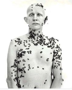 Richard Avedon - Ronald Fischer, The Beekeeper