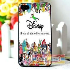 Disney All Characters iPhone 4/4s iPhone 5/5s/5c by Indomaret, $10.00