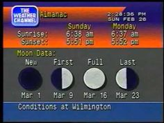 Weather Channel Local Forecast 1998 - YouTube | The weather channel