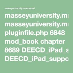 masseyuniversity.mrooms.net pluginfile.php 6848 mod_book chapter 8689 DEECD_iPad_support_booklet_for_special_education.pdf
