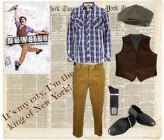 Newsies Costume Ideas | Found on broadwayspotted.com