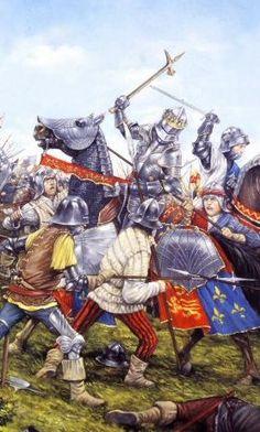 Battle of Bosworth, Richard Iii, Medieval Armor, Medieval Fantasy, High Middle Ages, Fantasy Battle, Plantagenet, Wars Of The Roses, Rose Art, Knights Templar
