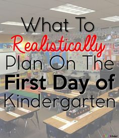 What To Plan on The First Day of Kindergarten! What to REALISTICALLY plan on the first day of Kindergarten! Kindergarten First Week, Kindergarten Classroom Setup, Kindergarten Lesson Plans, Kindergarten Graduation, Kindergarten Activities, Kindergarten Writing, Classroom Ideas, Starting Kindergarten, Future Classroom