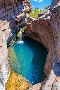 Karijini National Park est un Parkcentred national dans les Hamersley Ranges de la région du nord-ouest thePilbara Western Australia (Australie).