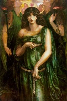 Syrian Astarte pictured in a trinity