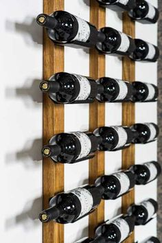 The Wine Cradle has been designed to display your favourite wines with the label…