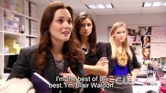 """""""I'm Blair Waldorf"""""""