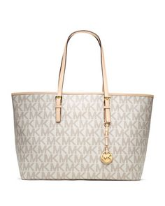 MICHAEL Michael Kors Medium Jet Set Multifunction Logo Travel Tote