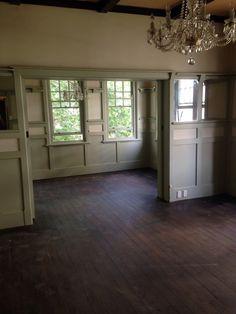 Living room stripped back