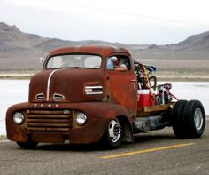 Cool Ford cab over