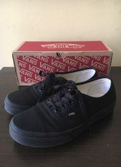 Kup mój przedmiot na #vintedpl http://www.vinted.pl/damskie-obuwie/trampki/18245975-vans-authentic-czarne-365-black