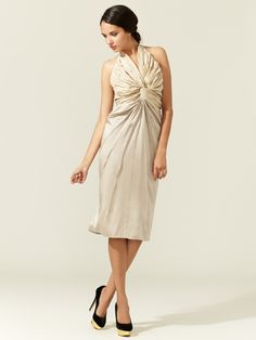 Twisted Top Halter Dress by Zac Posen at Gilt
